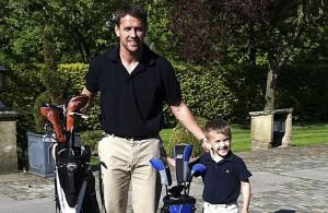 Майкл Оуэн увлекается гольфом