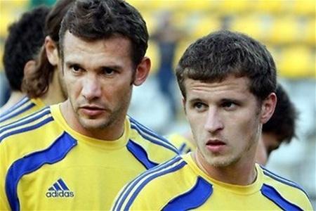 Андрей Шевченко и  Александр Алиев