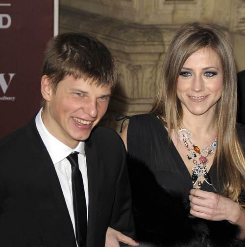 Андрей Аршавин с женой Юлией