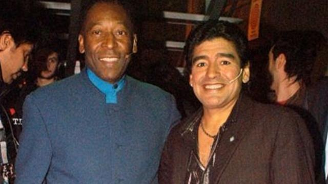 Диего Марадона и Пеле