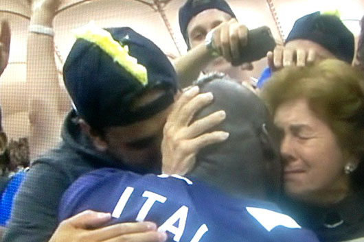 Марио Балотелли посвятил голы маме