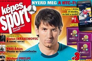 Месси на обложке Kepes Sport
