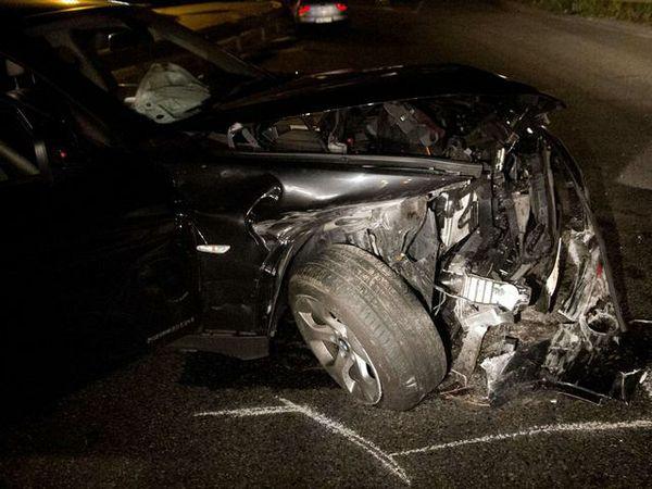 Эзекиль Скелотто на  BMW попал в аварию