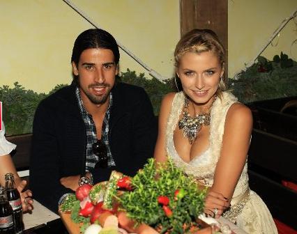 Лена Герке и Сами Хедира