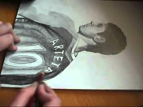 Фанатка лондонского «Арсенала» нарисовала Микеля Артету