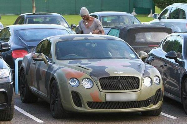 Автомобиль Марио Балотелли