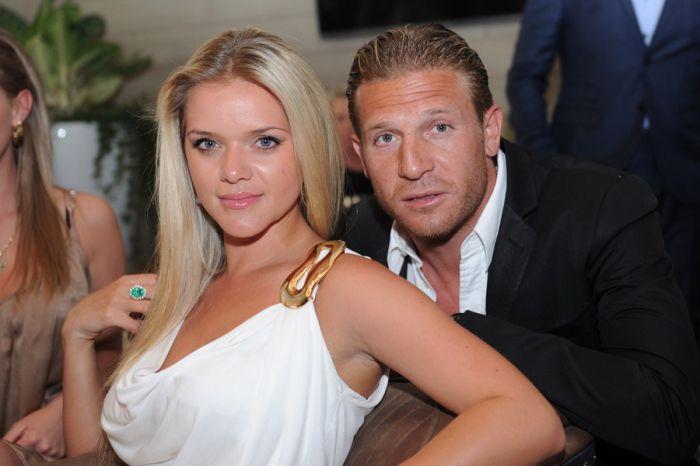 Андрей Воронин с женой