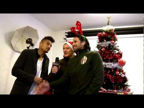 Футболисты «Милана» спели рождественскую песню