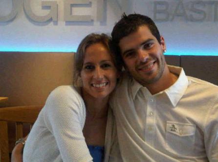 Фернандо Гаго с женой