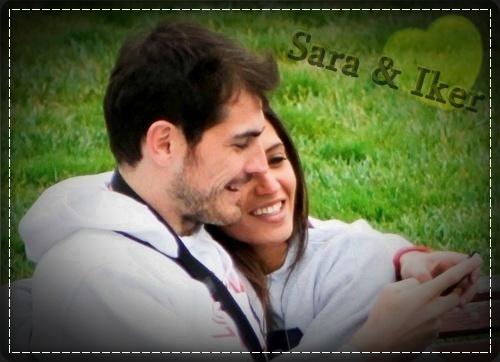 Икер Касильяс и Сара Карбонеро