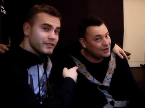 Игорь Анкифеев с Сергеем Жуковым