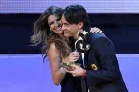Филиппо Индзаги и Алессия Вентура