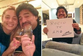 Диего Марадона и Росио