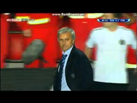 Сольный номер Жозе Моуриньо в матче за Суперкубок УЕФА. Видео