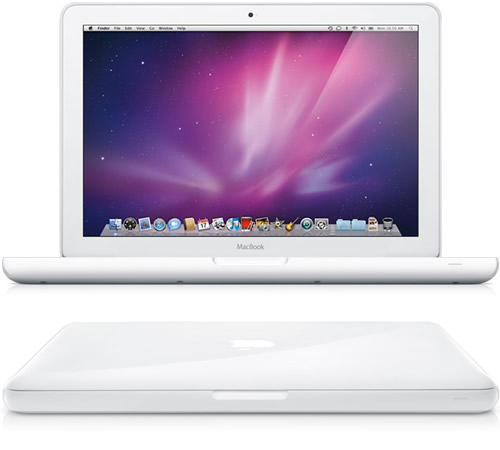 macbook unibody white