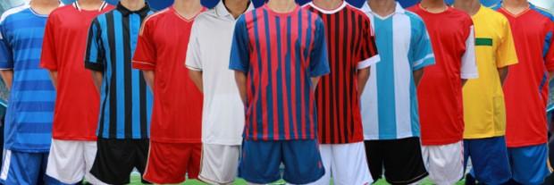 детскую футбольную одежду на команду