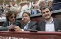 Икер Касильяс посетил корриду вместе с известным теннисистом