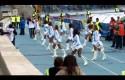 «Сестрички» поддерживают «Зенит» зажигательными танцами